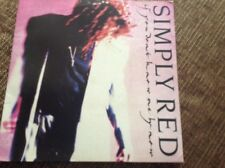 "Simply red - if you don't know me by now, ex con 7"" vinyl"