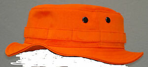 RECCE Hat Boonie   blaze   ORANGE     - Made in Germany -