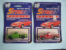 Lot of 3 Yatming Road Tough Street Machine Die Cast Cars Mint on Blister 1970's