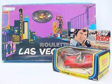 "Corgi Toys 1:36 FORD THUNDERBIRD 'VEGAS"" Car #348 + Robert Ulrich & GAME MIB`80!"
