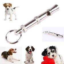 Pet Dog Training Silent Whistle Flute UltraSonic SuperSonic Adjustable Pitch 8CM