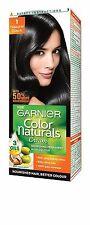 2 X Garnier Color Naturals Shade 1 Natural Black, 70ml + 40g