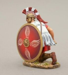 THOMAS GUNN GREEK WARS SPA005E Spartan Kneelng Ready with 4 Wing Red Shield MIB