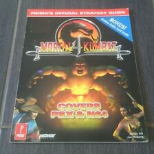 Mortal Kombat 4 Prima's Official Strategy Guide Secret (Englisch) Lösungsbuch
