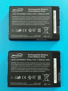 Motion Computing Xplore J3500 J3400 BATKEX00L4 4UF103450T-T0158 Battery - 2 unit