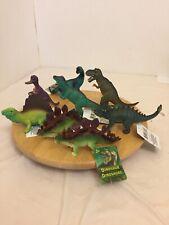 Dinosaur Lot 8 Pcs + Real Dino Poop In Mini Dig Kit