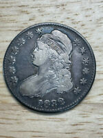 1832 Capped Bust Half Dollar, 2/26/21, Free Shipping