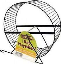 Pennine 23cm Rat/ferret Exercise Wheel Running Metal Black 3009