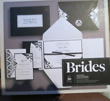 WEDDING INVITATION KIT & PRINTING TEMPLATE ENVELOPES RESPONSE CARD ETC BY BRIDES