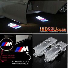 2 CREE LED CAR DOOR COURTESY LASER PROJECTOR LOGO GHOST SHADOW LIGHT BMW M SPORT