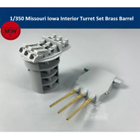 TMW 1/350 Turret details for Tamiya Missouri & Iowa Kits