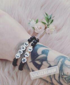Armband ❤️ Perlenarmband ❤️ Freundschaft ❤️ Partner ❤️ personalisiert ❤️