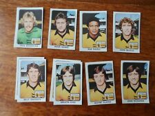 PANINI - FOOTBALL 79 - WOLVERHAMPTON WANDERERS Player stickers - Original