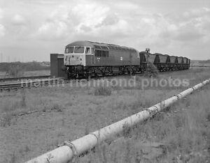 West Burton Power Station Class 56 56006 17.6.80 John Vaughan Negative RN109