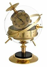 Analogue Weather Station of White Vintage Brass TFA 2020475B Sputnik Retro