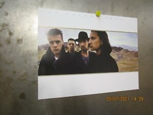 U2 JOSHUA TREE 30th Anniversary Edition 2017 PROMO POSTER Island BONO THE EDGE