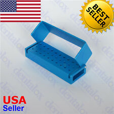 #B004 30 Holes Autoclavable Aluminum Bur Disinfection Block