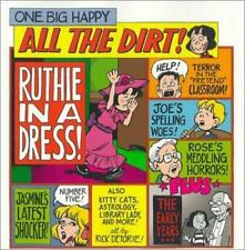 One Big Happy All the Dirt Rick Detorie 2001 Paperback Comic Strip Cartoon Book