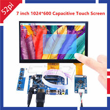 7 Inch 1024*600 Capacitive Touch Screen LCD Display DIY Kit  for Raspberry Pi