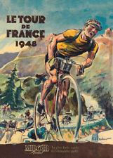 TOUR DE FRANCE 1948, 250gsm A3 Cycling Poster