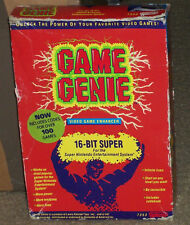 Super Nintendo Game Genie Boxed With Code Booklet & Dust Cover