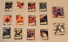 2005 ToyBiz Marvel Super Hero Showdown SET OF 14 CARDS Upper Deck - NEW & UNUSED