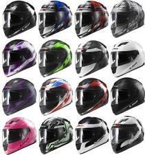 Motorrad-Helme mit Visier, kratzfest LS2