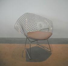 Knoll Sitzpolster in Stoff Tonus 216T Grau für Diamond Sessel Harry Bertoia