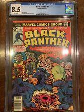 Black Panther #1 CGC 8.5 1977 Classic Jack Kirby!!
