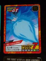DRAGON BALL GT Z DBZ SUPER BATTLE PART 18 CARD HIDDEN PRISM CARTE 764 JAPAN **