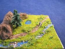 (DW6) Wanderer am Flussufer Diorama Figur Spur Trace Z (1:220)