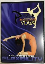 Power Yoga Ultimate Flexibility (DVD) Adrienne Reed *Very Good* *Free Shipping*
