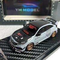 1/64 YM Model Honda Civic Type-R FK8 Whiteline JDM Ltd 499 pcs