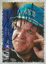Rick Mast Autographed 1995 Maxx Series One Racing Nascar Photo Trading Card #1