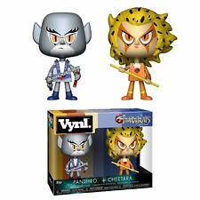 FUNKO Thundercats-Panthro and Cheetara vinyl 4 inch action figure 2 pack new!
