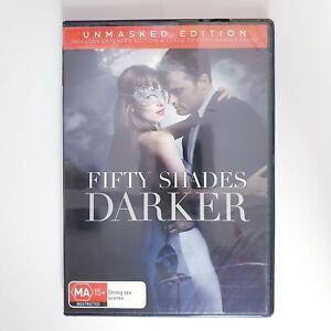 Fifty Shades Darker Movie DVD Region 4 PAL Free Postage - Romance Drama