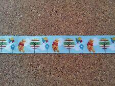 "5/8"" (16mm) Winnie The Pooh Grosgrain  Ribbon 2 yards Free Shipping"