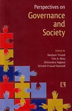Perspectives on Governance and Society: Essays in Honour of Professor O.P. Dwive