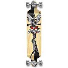 SMITE Graphic Drop Down Complete Longboard Professional Speed Cruise skateboard