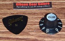 Gibson Les Paul Knob Single Witch Top Hat Volume Guitar Parts R9 SG Custom ES R8