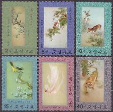 KOREA Pn. 1976 mint(*) SC#1513/18 set, Embroidery.
