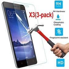 3X 9H Premium Real Screen Protector Tempered Glass Protective Film For Xiaomi SA