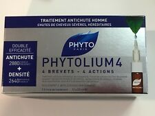 Phyto Phytolium 4 Densifying Treatment Serum Men 12 x 3.5ml Thinning Hair NIB