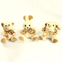 Cotton Soft Teddy Bear Talking Love Bowknot Xmas Gift Present Kids Cute Yellow