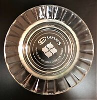Vintage Dunes Hotel Casino, Las Vegas Glass Ashtray. Pre Owned. Guaranteed