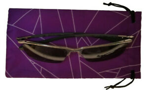 Eyeglass / Sunglass Drawstring Bag (Purple)