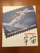 Petit album timbres URSS sur le thème du Cosmos