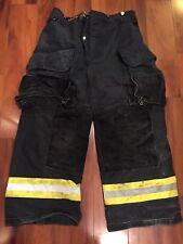 Firefighter Janesville Lion Apparel Turnout Bunker Pants 36x28 BLACK Costume
