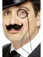 Monocle Eye Glass 20s 30s Victorian Gentleman Murder Mystery Mens Fancy Dress