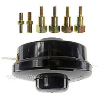 Dual Bump Feed Head Base Strimmer Line for HOMELITE Petrol Brush Cutter Trimmer